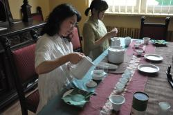 Tea Ceremony at the Centre for Dialogue and Prayer